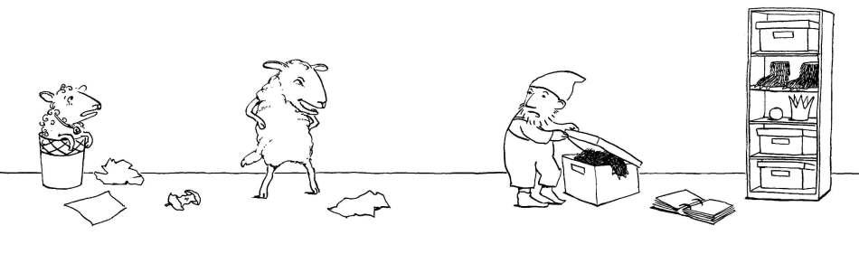 Dwarf gets box