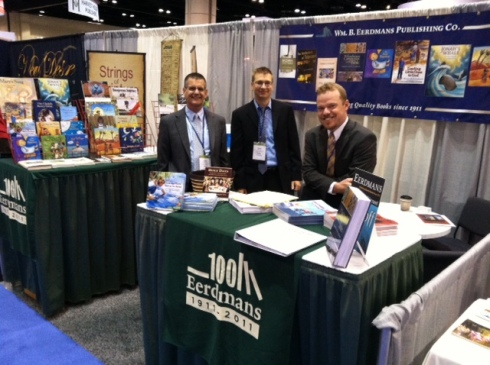 Eerdmans booth #349 at ICRS