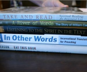 Book Spine Poetry Photo