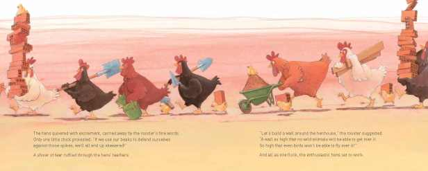 """""""The hens quivered with excitement . . . """""""