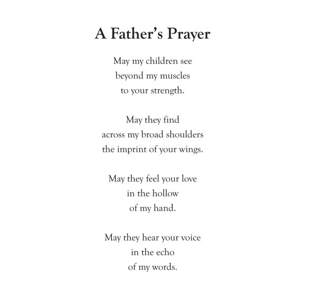 A Father's Prayer