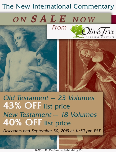 NICOT/NICNT on Sale Now from Olive Tree Bible Software