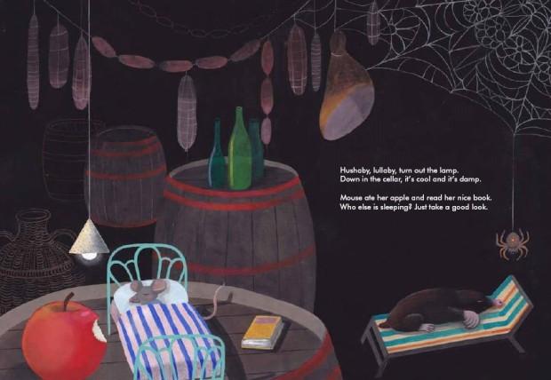 Interior spread from Zoboli and Mulazzani's Big Book of Slumber